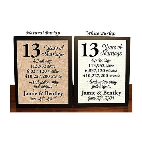 13 Year Wedding Gift: 13th Wedding Anniversary Gifts: Amazon.com