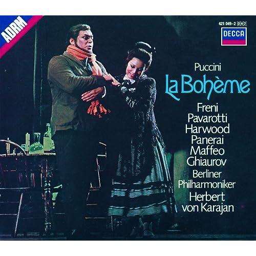 Puccini La Bohème Von Mirella Freni Luciano Pavarotti Elizabeth