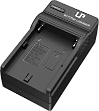 LP NP-F550 Battery Charger, Compatible with Sony NP F970, F960, F770, F750, F570, F530, F330, CCD-SC55,TR516,TR716, TR818, TR910, TR917, CN160, CN-216 LED Light, Feelworld Field Monitor & More