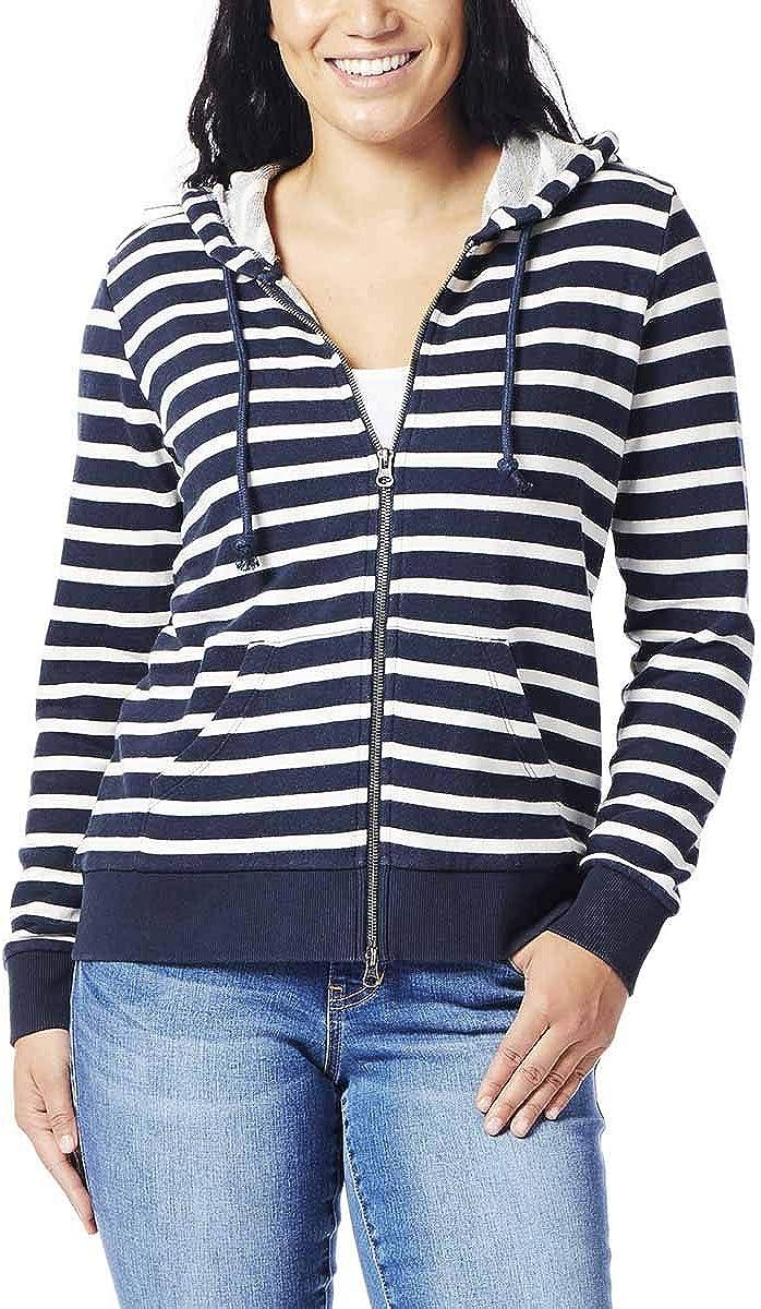 Jag Jeans Lowest price challenge Women's Edie Zip Colorado Springs Mall Up Hoodie