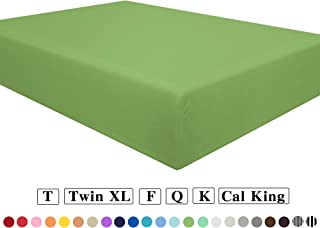 double fitted sheet cream