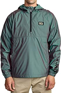 RVCA Men's Hazed Zip Jacket Multicolor Medium