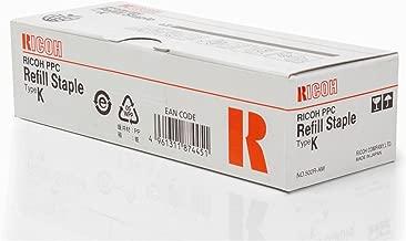 Genuine Ricoh 410802 (TYPE K) Staple Cartridge, Box of 3 by Savin