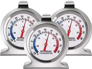 Refrigerator Freezer Thermometer Classic Series Large Dial Thermometer Temperature Thermometer for Refrigerator Freezer Fr...