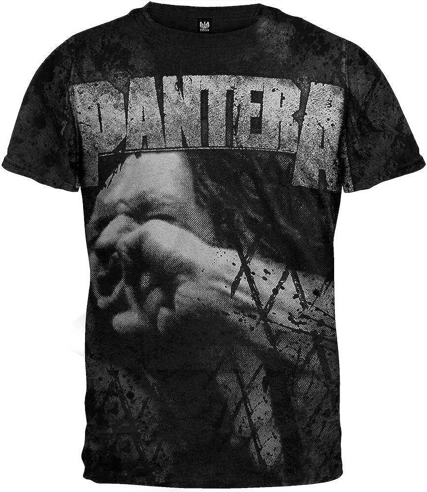 Pantera VULGER Allover Black T-Shirt