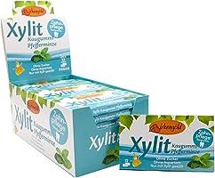 Birkengold Xylitol kauwgom pepermunt | 24 st. blister | verzorgingskauwgom | suikervrij | hoog xylitolgehalte van 70 % |...