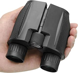 Beileshi Binocular Telescope 10x25 Compact High Powered Outdoor Sports Binocular Telescope Pocket Scope for Birdwatching C...