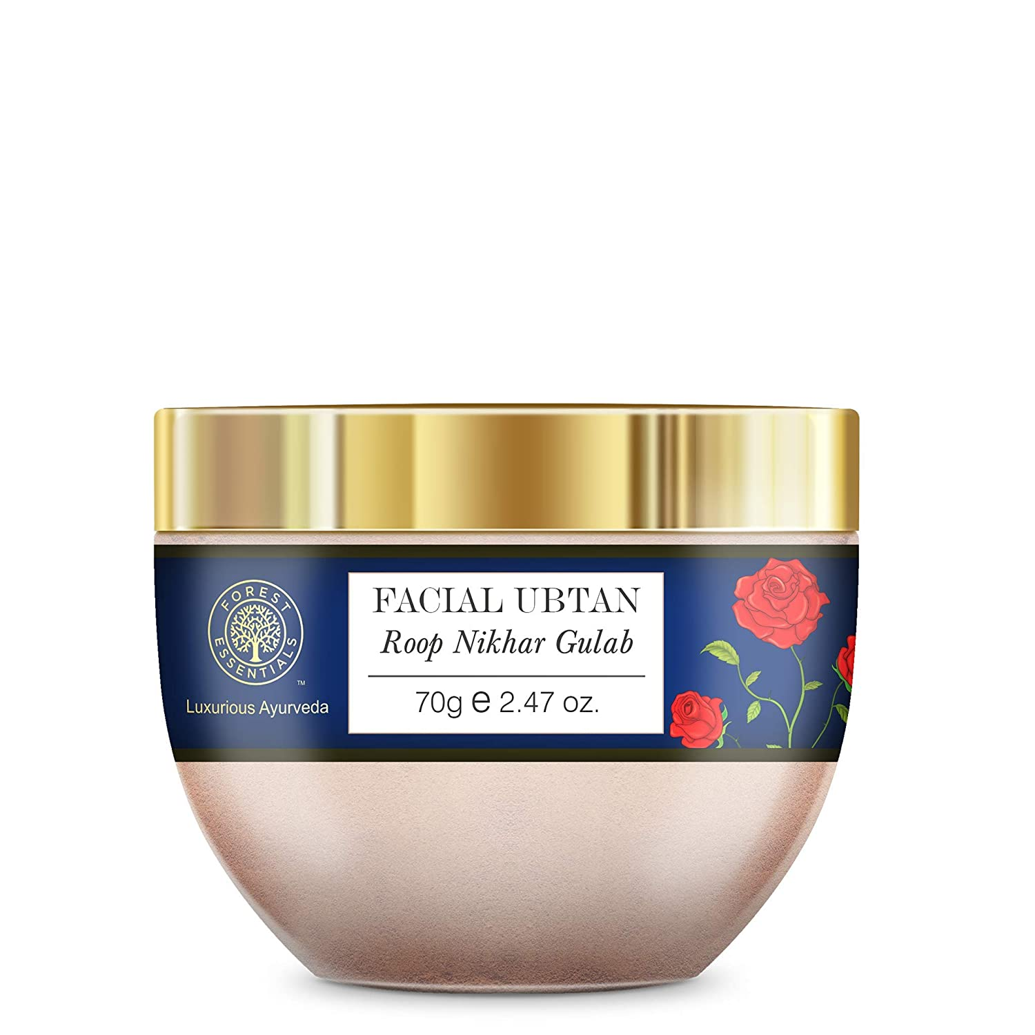 Forest Portland Mall Essentials Facial Ubtan Selling rankings Roop Nikhar and Gulab 70g