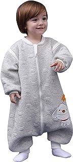 Baby Saco de Dormir Mangas Desmontables 3 Zip Manta ponible Caliente 0-5 años