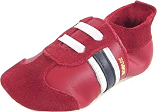 Bobux Babyslofjes, Leder, Sport Shoe Blue,