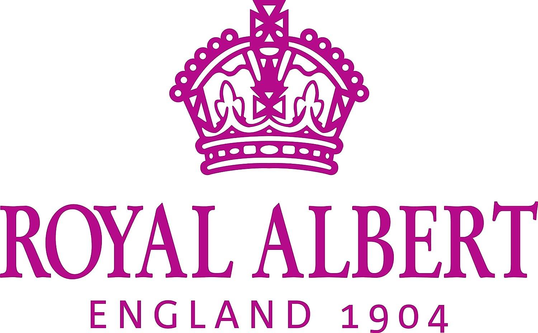 Royal Albert Juego de 4 Taza y Plato de Miranda Kerr Collection