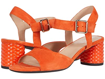Geox Ortensia Mid and 1 (Orange) Women