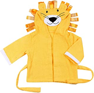 Vibola® Baby Bathrobe Cartoon Lion Cotton Hooded Animal Modeling Robes