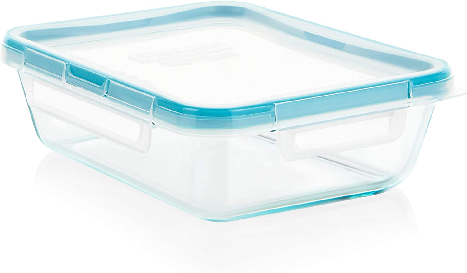 Amazon Com Snapware 6 Cup Total Solution Rectangle Food Storage Container Glass Kitchen Dining