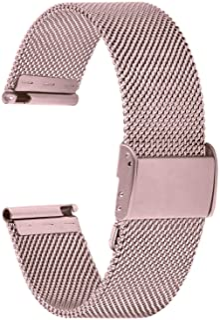 Fullmosa Cinturino per Orologio 22mm, Cinturini in Acciaio Inossidabile di Ricambio Compatibile con Orologi Samsung/Huawei...