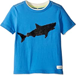 Blue Sequin Shark