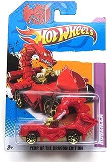 RED RODZILLA Hot Wheels 2012
