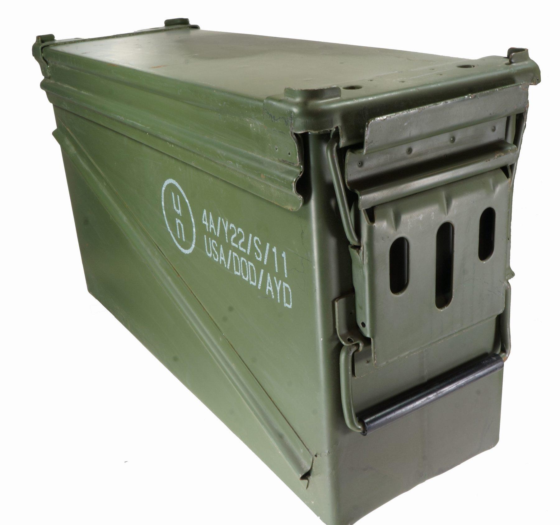 U.S. Government Contractor PA-120 40 mm munición Puede/Caja de municiones: Amazon.es: Deportes y aire libre