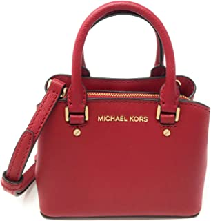 Michael Kors Mini Savannah XS Saffiano Leather Satchel Crossbody Bag