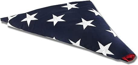 Valley Forge American Flag 5ft x 9.5ft Sewn Nylon Flag