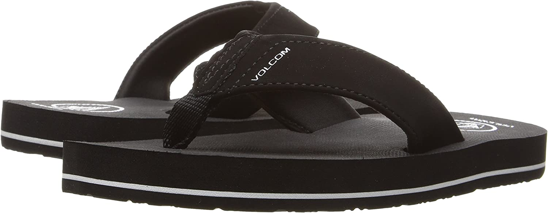 Volcom Unisex-Child Victor Big Youth Flip Flop Sandal