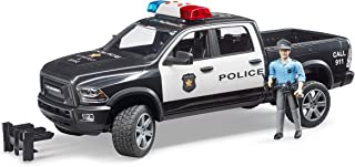 RAM 2500 Police Truck with Policeman