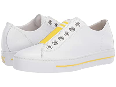 Paul Green Abby (White/Sun Leather) Women