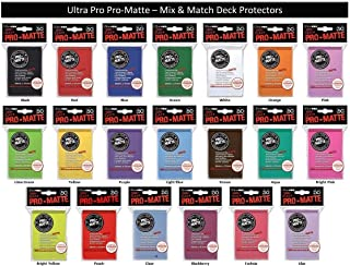 Ultra Pro 300 PRO-Matte Deck Protectors Mix & Match (6X 50ct Packs) Sleeves Standard MTG Size Black, Blue, Red, Etc. Your ...