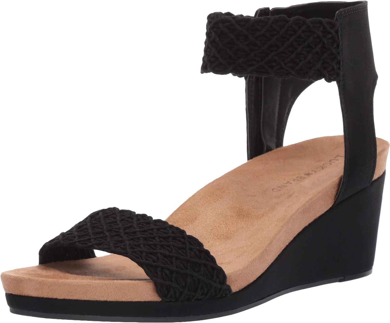 Lucky Brand Womens Kierony Wedge Wedge Sandal