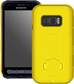 Wireless ProTech Shell Case Compatible with Samsung Galaxy XCover FieldPro -G889. Slim Protective Rugged Shell Case with B...