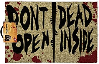 IMPACT The Walking Dead - Don't Open Dead Inside Outdoor Doormat