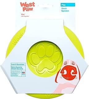 West Paw Zogoflex Zisc Durable Dog Frisbee Nearly Indestructible Flying Disc Dog Toy