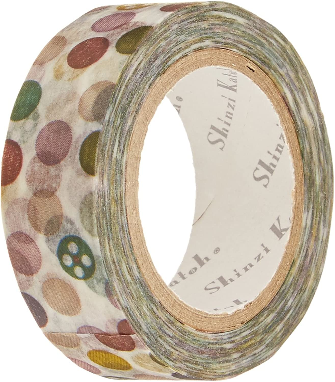 SEAL-DO Shinzi Katoh Washi Masking Tape, 15mm x 10m, Dot (ks-mt-10005) by SEAL-DO B00CPGX4NC     | Kunde zuerst