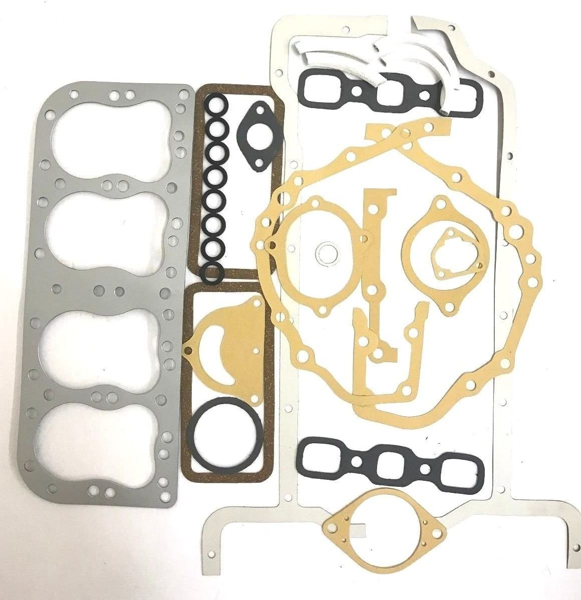 1 year warranty New Full Gasket Set Compatible with 8N 9N Metal Tractor 2N Ford Excellent