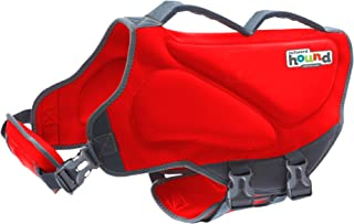 Outward Hound Dawson Dog Life Jacket - Water Safety Swimming Pet Flotation Device