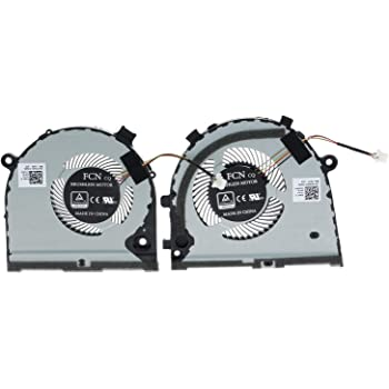 Rangale Replacement Cooling Fan Compatible for Dell inspiron Game G5 15 5587 G3 G3-3579 3779 FKB7 0GWMFV 4-Pins GPU