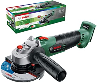 Sponsored Ad – Bosch Cordless Angle Grinder AdvancedGrind 18 (Without Battery, 18 Volt system, Disc Diameter: 125 mm, in C...