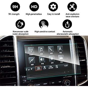 LFOTPP Porsche Cayenne 2010-2015 9H Macan Typ 92A PCM 3.1 2013-2016 7-Inch Car Navigation Screen Protector Glass, Tempered Glass Center Touch Screen Protector Anti Scratch High Clarity LiFan 15-17 Porsche Cayenne 7cun 195105