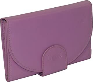 LAVERI Pink Leather For Women - Trifold Wallets