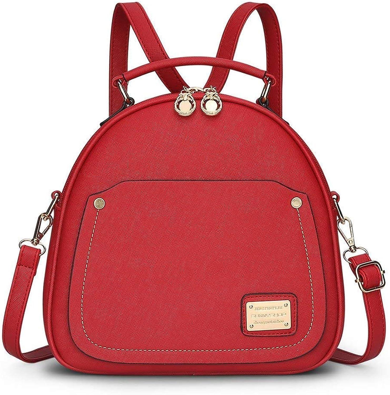 Lounayy Dauerhaft Tagesrucksack Kinder Mode Ruckscke Rucksack Rucksack Schulrucksack Leicht Schule Daypack Backpack (Farbe   Rot, Größe   One Größe)