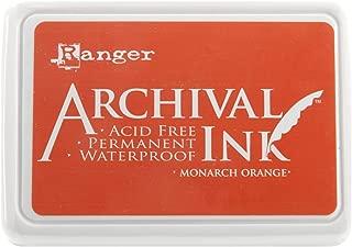Ranger AIP-31239 Archival Inkpad, Monarch Orange
