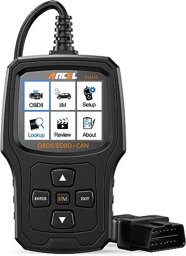 ANCEL EU410PRO Lecteur de Code OBD2 l'Outil d'Analyse Vérifier Le Voyant Moteur de Voiture Capteur O2 Scanner de syst...