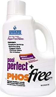Natural Chemistry 05131 Pool Perfect+ Phosfree Pool Cleaner 3 Liter