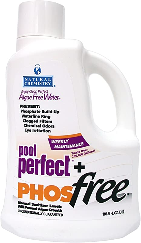 Natural Chemistry 05131 Pool Perfect Phosfree Pool Cleaner 3 Liter