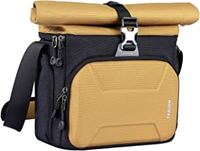 TARION XHS Camera Bag Case Shoulder Sling Bag Roll Top for DSLR Mirrorless Cameras Lens Outdoor Men Women Compact Camera Shoulder Bag
