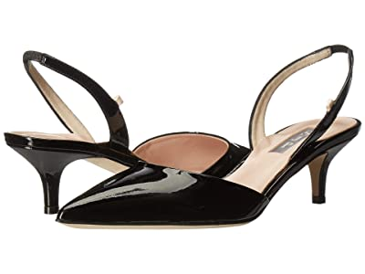 SJP by Sarah Jessica Parker Bliss 50 (Black Patent) Women