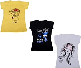 IndiWeaves Womens Pure Cotton Half Sleeves Printed T-Shirt(Pack of 3)(310052223-IW-P3-XXL_Multicolor_XX-Large)