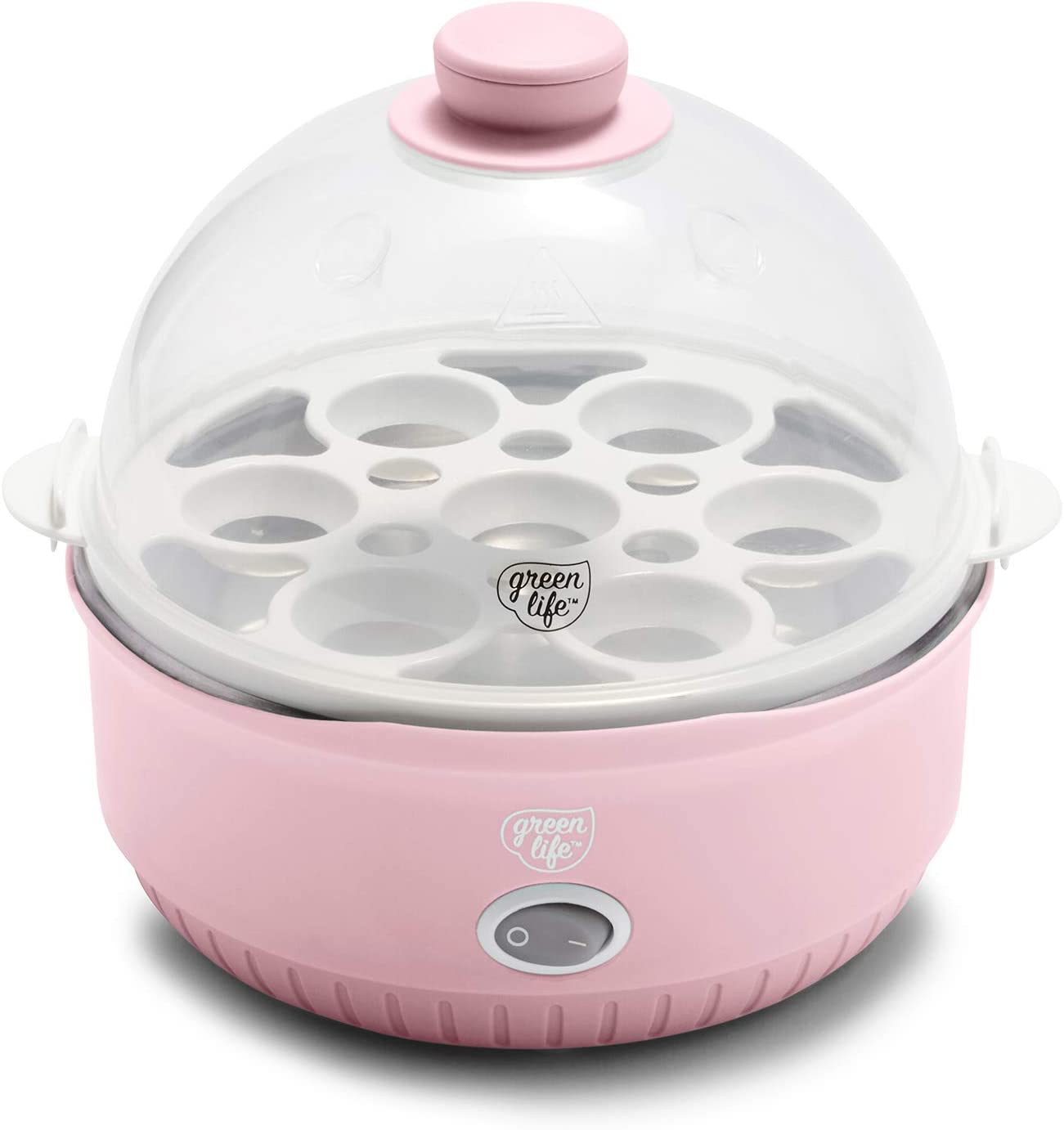 GreenLife CC003765-002 Qwik Egg Max 57% OFF One Cooker Pink Size OFFicial mail order