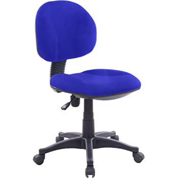 EUROSILLA Lisa Chefsessel Schreibtisch, 85 x 48 x 62 cm, blau