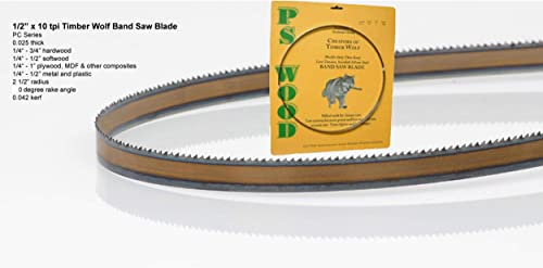 """discount Timber Wolf discount Bandsaw Blade 1/2"""" x 93-1/2"""", 10 online TPI sale"""